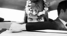 Anna Karina in Jean-Luc Godard's Le Petit Soldat.