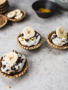 banoffee pie bites (vegan, GF & No Refined sugar)