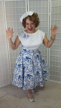 This is the Butterick 4790 walkaway dress in a Michael Miller novelty print. It was for a contest at ShearMadnessBlog.com The petticoat was a bit of a challenge. The petticoat needed to be flat in...