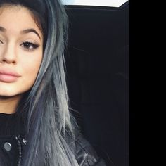 "jenner-news:  Kylie: ""a little grey never hurt nobody"""