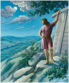 Samson carries Gate of Hebron Judges Bible Images, Bible Illustrations, Light Of Life, Old Testament, Bible Art, Christian Art, Artist Names, Carry On