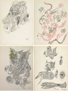 Unica Zürn (6 July 1916 in Berlin-Grunewald – 19 October 1970 in Paris) was a German author and painter. She is remembered for her works of anagram poetry, exhibitions of automatic drawing, and her photographic collaborations with Hans Bellmer.