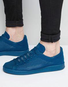 best value cae3c e8fa7 adidas Originals   Zapatillas de deporte de punto Primeknit azules S80067  Stan… Zapatillas Deportivas,