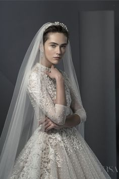 Ersa Atelier MISS MIST BRIDAL COLLECTION 2018 EUPHEMIA