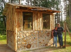 cord wood buildings | How do I learn to build using cordwood contruction techniques is ...