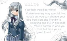 22 Best Anime Hair Color Images Anime Hair Color Color Meanings