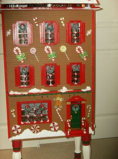 A Gingerbread Dollhouse