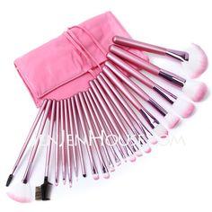 Makeup Supply - $22.99 - Professional Makeup Brushes With Pink Bag(22 Pcs ) (046024417) http://jenjenhouse.com/Professional-Makeup-Brushes-With-Pink-Bag%EF%BC%8822-Pcs-046024417-g24417