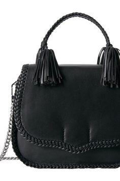 Rebecca Minkoff Chase Large Saddle Bag (Black) Handbags - Rebecca Minkoff, Chase Large Saddle Bag, HSP7ECAL13-001, Bags and Luggage Handbag General, Handbag, Handbag, Bags and Luggage, Gift, - Street Fashion And Style Ideas