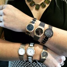 So many watches, so little time! BERING wristwatches available at Silverscape Designs. Danish design, gorgeous! #beringtime #bering #wristwatch #wristcandy #fashionwatch