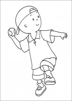 Caillou Coloring Pages Online Picture 34 550x770