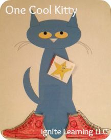 """Pete the Cat printable to go along with """"I Love My White Shoes"""".  Pete stops to breathe along the way using Conscious Discipline breathing techniques.  From Ignite Learning with Conscious Discipline LLC: Pete the Cat Goes Back to School"""