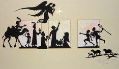 Christmas Nativity Triptych