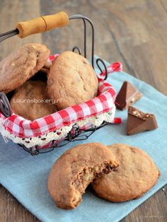 Toblerone koekjes! Heel erg lekker, recept op de site :)