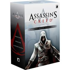 Livro - Box Assassin's Creed (3 Volumes) - Renascença / A Cruzada Secreta / Irmandade - R$ 69,90