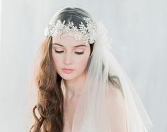 Yesteryear Inspired Bridal Veils and Adornments