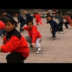 In this beautifully filmed video by Empty Mind Films, Master Cui Zhongsan teaches a tai chi class the Yang style of Tai Chi Chuan in Zhongshan Park near the Forbidden city. Tai Chi Video, Yang Style Tai Chi, Tai Chi Classes, Learn Tai Chi, Hatha Yoga Poses, Tai Chi Qigong, Shaolin Kung Fu, Chinese Martial Arts, Yoga Poses For Beginners