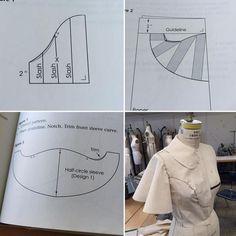 Sleeve sewing pattern