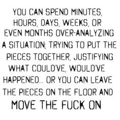 You can spend minutes, hours, days...