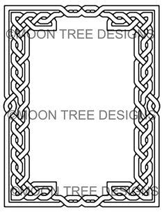 17 best Coloring Book Pages Stationery Celtic Borders
