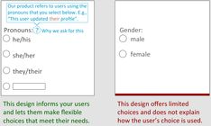 Demographic data may be critical to your mission. This article establishes guidelines for respectful design and language for collecting demographic data. Survey Design, Survey Questions, Respect, Language, Let It Be, This Or That Questions, Transgender, Fundraising, Collection