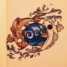 la and tui ocean and moon spirits from avatar the last airbender tattoo design tattoos. Black Bedroom Furniture Sets. Home Design Ideas