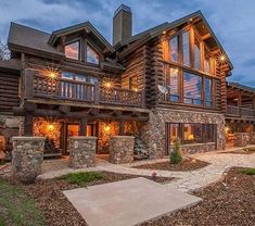 You know, when someone says something is odd, there is nothing that literally odd. It can be unique or we don't get accustomed with that. So, we want to question anything. What do you think about a rustic contemporary home? Cabin Homes, Log Homes, Palaces, Villas, Duplex, Loft, Rustic Contemporary, Country House Plans, Modern Buildings