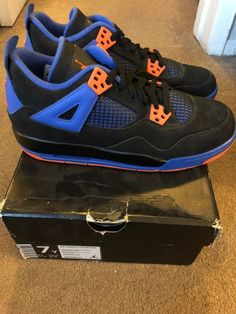 42191429f22 Nike Air Jordan 4 Cavs GS Size 7y Sz 7y Retro IV  fashion  clothing