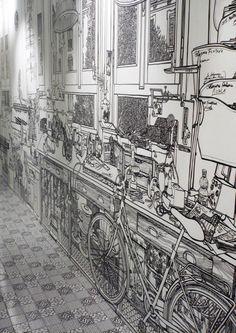 Charlotte Mann's murals