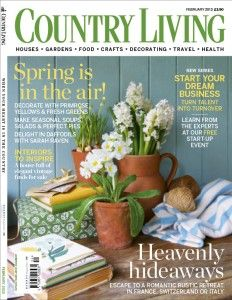 I LOVE LOVE LOVE the British edition of country living magazine!!!!