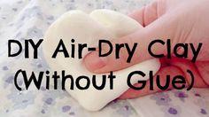 clay tutorial w/ 2 ingredients