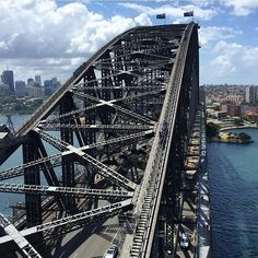 One of the lost iconic spots in #Sydney the #sydneyharbourbridge has been around since the 1930s. Photo by @gypsytravelsbyjess. #Australia #wanderlust #travelling #instatravel #Travel by touristly http://ift.tt/1NRMbNv