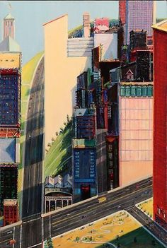 Wayne Thiebaud - Exhibitions - John Berggruen Gallery