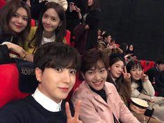 yoona & soyoung &leetuk &irene, wendy Yoona, Sooyoung, Snsd, Siwon, Heechul, Eunhyuk, Girls Generation, K Pop, Irene