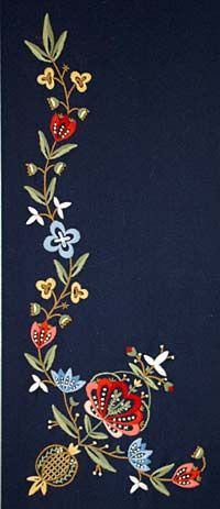 Embroidery of Jelsa, Norway