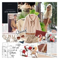 """""""Love begins with a smile, grows with a kiss, ends with a tear. When you were born, you were crying and everyone around you was smiling. Live your life so that when you die, you're the one smiling and everyone around you is crying."""" by aane1aa ❤ liked on Polyvore featuring Edition, DKNY, Paul Frank, H&M, Topshop, Jane Norman, Disaster Designs, Retrosun and Marc by Marc Jacobs"""