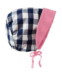 Reversible Sunbonnet from #HannaAndersson.
