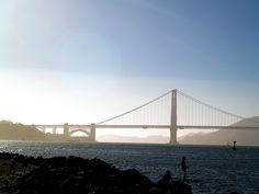 The Golden Gate Bridge, SF.