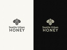 Seattle Urban Honey Brand Identity by Detail Vision, via Behance