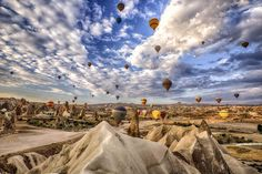 Cappadocia Hot-Air Balloon Festival in Turkey | Awesome Photography