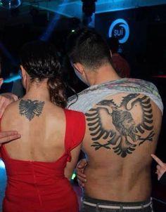 Albanian Tattoo, Albanian Culture, Crying Girl, National Symbols, Lion Tattoo, Body Art Tattoos, Henna, Hair, Paranormal