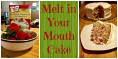 Melt in your mouth cake