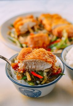 Polynesian Chicken Recipe by the Woks of Life