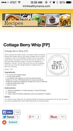 FP -Cottage Berry Whip