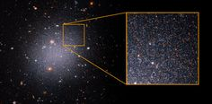 Mystery of Galaxy's Missing Dark Matter Deepens | NASA Giant Star, Red Giant, Forms Of Matter, Institute For Advanced Study, Globular Cluster, Other Galaxies, Hubble Images, Hubble Space Telescope, Dark Matter