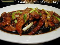 Cooking Tip of the Day: Recipe: Mongolian Beef