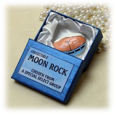 Hysterical Gag Gift . . MOON ROCK by TheCraftBlossom on Etsy                                                                                                                                                                                 More