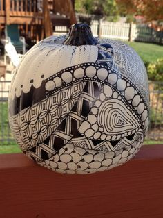 zentangle pumpkin - Google Search