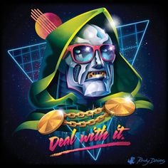 80's Villain Pop Album Covers Series by Rocky... | HeroChan