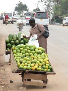 Katunäkymä Kampalasta 2011